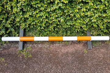Pole orange 3 stripe